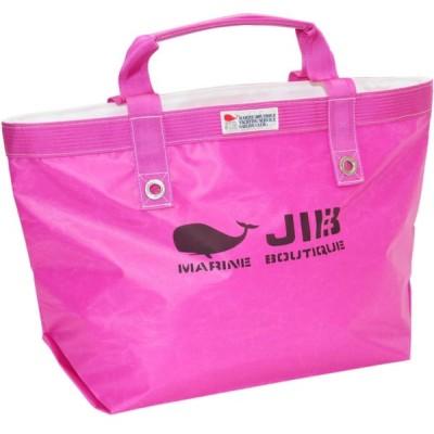 TFM88 JIB オープントートM ピンク ヨットの帆で作られた軽くて丈夫な丸洗いもできるバッグです