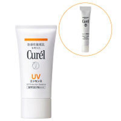 花王【数量限定】Curel(キュレル) UVエッセンス 50g SPF30 PA+++ + ジェルメイク落とし 6g 花王 敏感肌