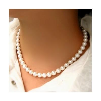 レディース ネックレス アクセサリー 真珠 8m パール シンプル 上品