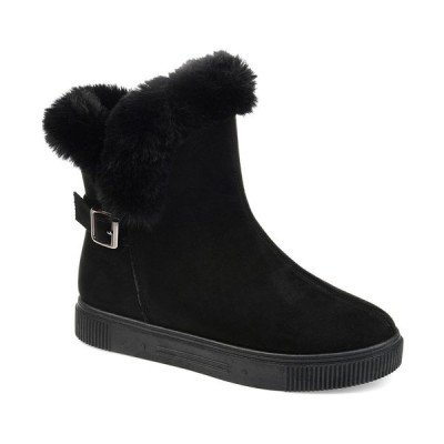 ジャーニーコレクション ブーツ&レインブーツ シューズ レディース Women's Sibby Winter Boots Black