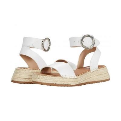 STEVEN NEW YORK スティーブンニューヨーク レディース 女性用 シューズ 靴 サンダル Tiny - White Leather