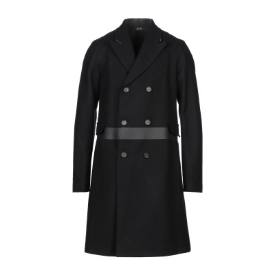 ヌメロ ヴェントゥーノ N°21 コート ブラック 52 バージンウール 80% / ナイロン 20% コート