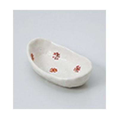珍味 和食器 / 小紋船型珍味 寸法:11 x 6.5 x 2.8cm