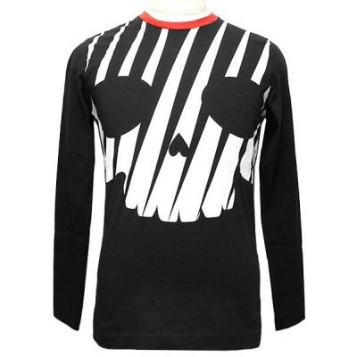 ハイドロゲン HYDROGEN Tシャツ メンズ ロンT 長袖 ロングカットソー 225620 007