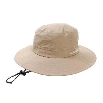 ホールアース帽子 キャップ WIDE BRIM ハット WE21FB06BEGベージュFF