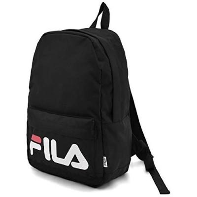 (フィラ) FILA ブランド ロゴ デザイン リュック リュックサック ブラック