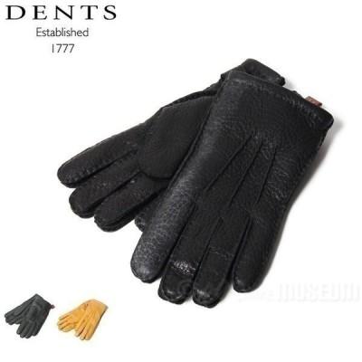 アウトレット デンツ DENTS 革手袋 Melton ペッカリー カシミヤライニング 15-1564 送料無料