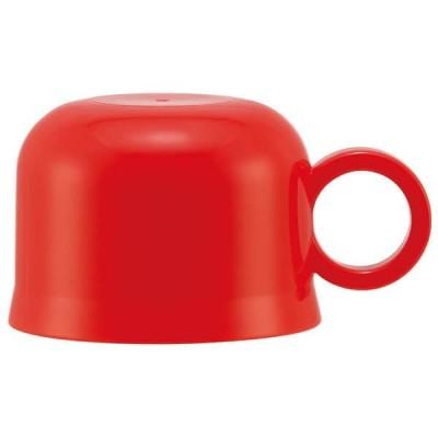 スケーター 水筒 交換用パーツ P-SKDC6-K ステンレスボトル用コップ 赤 ステンレス水筒 品番 型番 SKDC6 SKC6 KSKDC6 専用 スペア コップ 交換用 取り替え