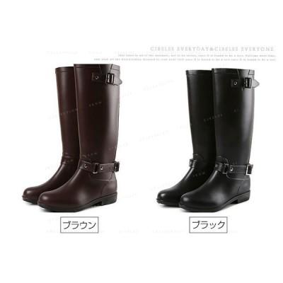 レインブーツ レインシューズ 長靴 レディース 雨具 大きいサイズ 無地 定番