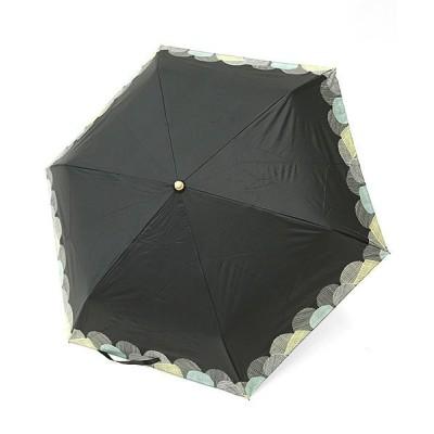 (and it_/アンドイット)折り畳み傘 晴雨兼用 エミュラル emural 選べる5type!晴雨兼用UV折りたたみ傘レディース 春夏秋冬 傘 日傘 雨傘 雨の日 雨具 撥水 UVカット/レディース ブラック