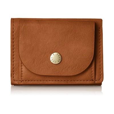 [レガートラルゴ] ミニ財布 ベーシック 三つ折りミニ財布 レディース LJ-F1172 キャメル