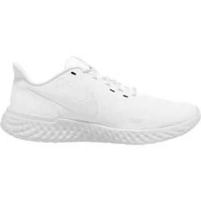 NIKE(ナイキ)(セール)NIKE(ナイキ)ランニング ジョギングシューズ メンズ ナイキ レボリューション 5 BQ3204-103 メンズ ホワイト/ホワイト