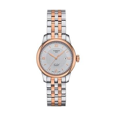 ティソ Tissot Le Locle Automatic Silver Dial Two-Tone Ladies Watch T006.207.22.038.00 並行輸入品