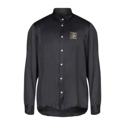 ラブ モスキーノ LOVE MOSCHINO シャツ ブラック M レーヨン 100% シャツ