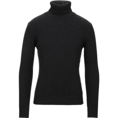 カングラ カシミア KANGRA CASHMERE メンズ ニット・セーター トップス turtleneck Steel grey