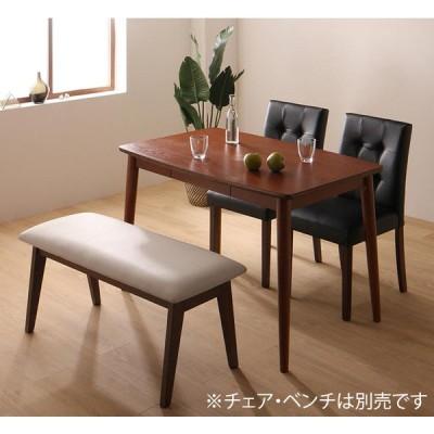 さっと拭ける PVCレザーダイニングシリーズ fassio ダイニングテーブルのみ W115 単品販売
