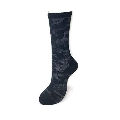 メンズ機能性ソックス 靴下4足セット 迷彩柄 ウォーキングプラス 91731 (91731 色おまかせ)