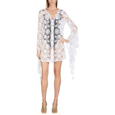 MIGUELINA ビーチドレス ホワイト XS コットン 100% ビーチドレス