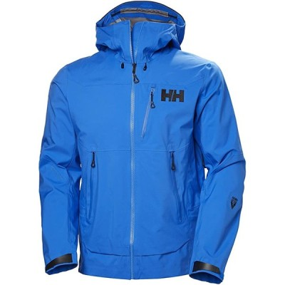 Helly Hansen メンズ オーディン Mountain 3L シェル ジャケット, 639 Electric ブルー, ラージ(海外取寄せ品)