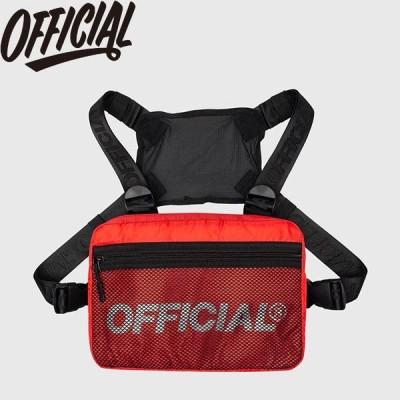 OFFICIAL MELROSE 2.0 CHEST UTILITY BAG RED オフィシャル ボディバッグ メルローズ 2.0 チェスト ユーティリティ レッド 19f
