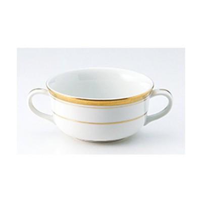 洋陶オープン 洋食器 / Y・Sゴールド ブイヨン碗 寸法:11 x 5.4cm ・300cc