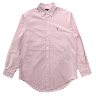 ポロラルフローレン オックスフォード ボタンダウンシャツ 長袖 サイズ表記:15 1/2-34