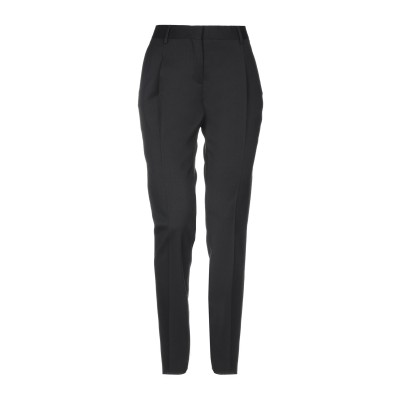 ヴァレンティノ VALENTINO パンツ ブラック 38 98% ウール 2% ポリウレタン パンツ