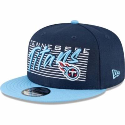 ニューエラ New Era メンズ キャップ 帽子 Tennessee Titans Navy 9Fifty Strike Adjustable Hat