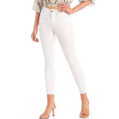 ジアーニビニ レディース デニムパンツ ボトムス Tori Skinny Jeans White