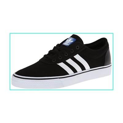 【新品】adidas Men's Adiease Sneakers, Black/White/Black, (5 M US)(並行輸入品)