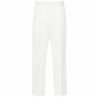 ジル サンダー Jil Sander レディース ボトムス・パンツ Cotton-twill straight pants Natural