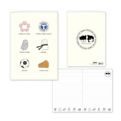 名探偵コナン B6ノート(アイテム柄 新一&蘭) CO-NO014 キャラクター グッズ メール便OK