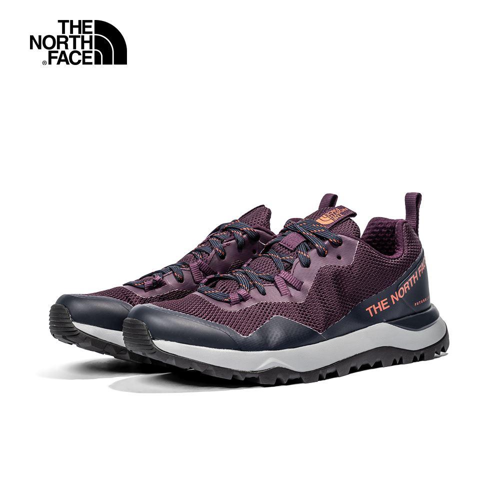 The North Face北面女款紫色透氣網布徒步鞋|3YUQV59