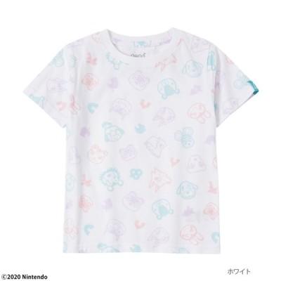 あつまれどうぶつの森 半袖Tシャツ キッズ トップス ネコポス対応