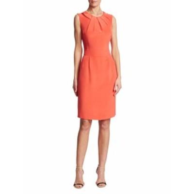 オスカーデラレンタ レディース ワンピース Solid Silk Dress