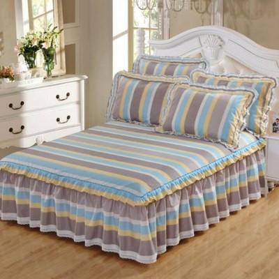 激安 ベッドスカート 寝具 柔らかい セール 四季通用 ベッドコーデ 寝室 洋式和式兼用 シングル セミダブル ダブル 北欧風 シンプル 洗える ベッド用品 清新風