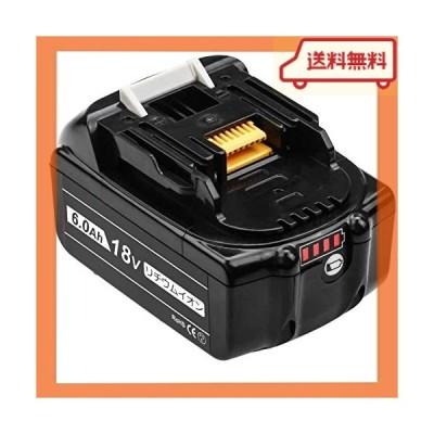 Baster 互換 BL1860B マキタ 18v バッテリー マキタ互換バッテリー 6.0Ah 18v BL1830/B BL1840/B BL1850/B BL1860/B 互換対応 電動