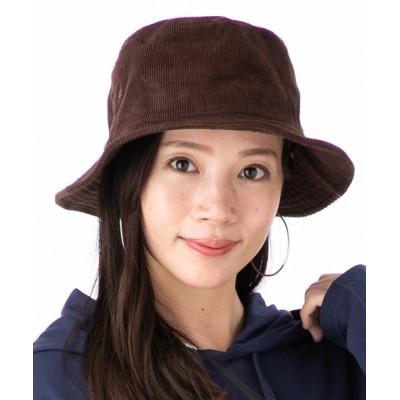 帽子屋ONSPOTZ / Newhattan バケットハット コーデュロイ WOMEN 帽子 > ハット