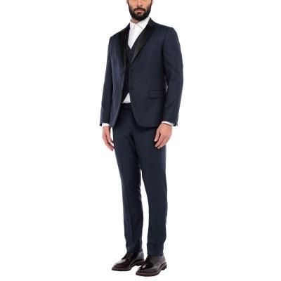 BRERAS Milano スーツ ダークブルー 54 バージンウール 100% スーツ