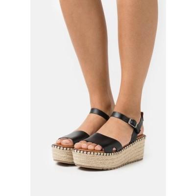 レディース 靴 シューズ CUCA - Platform sandals - black