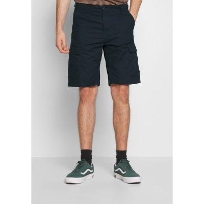 カーハート カジュアルパンツ メンズ ボトムス AVIATION COLUMBIA - Shorts - dark navy