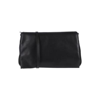 リック オウエンス RICK OWENS メッセンジャーバッグ ブラック 牛革(カーフ) 100% メッセンジャーバッグ