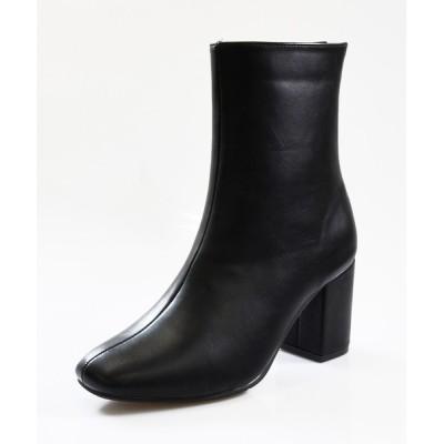 NOFALL sango / バックジップ太ヒールショートブーツ WOMEN シューズ > ブーツ