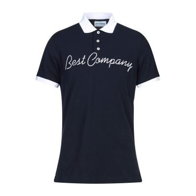 BEST COMPANY ポロシャツ ダークブルー S コットン 100% ポロシャツ