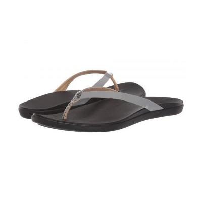 Olukai オルカイ レディース 女性用 シューズ 靴 サンダル Ho'opio Leather - Poi/Black