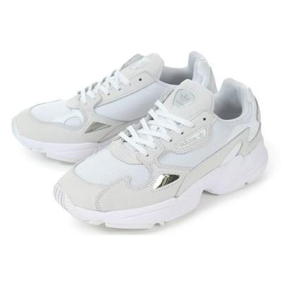 adidas(アディダス) FALCON W(ファルコン ウィメンズ) B28128 ホワイト/ホワイト
