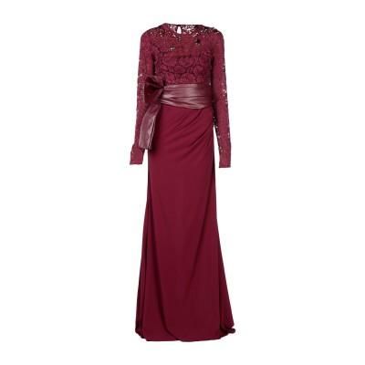 ピンコ PINKO ロングワンピース&ドレス ディープパープル 38 95% レーヨン 5% ポリウレタン ロングワンピース&ドレス
