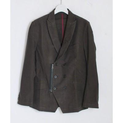 ジャケット テーラードジャケット double zip jacket