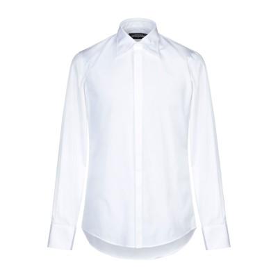 ディースクエアード DSQUARED2 シャツ ホワイト 44 コットン 100% シャツ