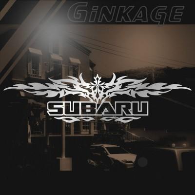 SUBARU スバル ステッカー 車 かっこいい 十字架 エンブレム リアガラス用 ステッカー